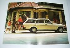 Car Sales Brochure For Mercedes Estates - Various Models.Unused.