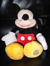 Rare Disney World Mickey Mouse Plush Cuddly Soft Toy Teddy Cartoon