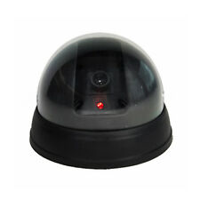 Dummy Fake CCTV Dome Security Camera Flashing Red LED Light Surveillance Home AS