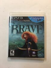 Brave Disney Pixar (Sony Playstation 3, 2012) PS3 The Movie Video Game Complete