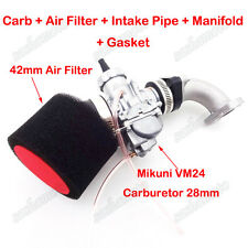 Mikuni VM24 Carburetor 28mm Filter For CRF50 SSR 140cc 150cc 160cc Dirt Pit Bike