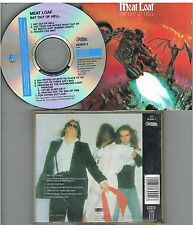 Meat Loaf ‎– Bat Out Of Hell CD 1988