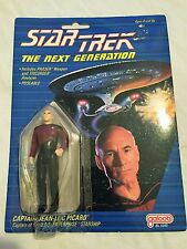VINTAGE 1988 Galoob STAR TREK TNG Next Generation Captain Jean-Luc Picard MOC