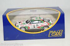 . IXO RALLY CAR TOYOTA CELIA 4WD TOUR DE CORSE 1994 AURIOL OCCELLI MINT BOXED