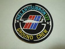 US Military Helantisubron 121 Helicopter Ground Crew Sewing Patch
