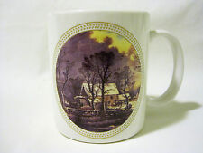 Scenic Coffee Mug Cup Outdoor Cabin By Creek