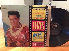 ELVIS PRESLEY: Blue Hawaii, RCA, Living Stereo, 1st, OOP LP