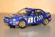 Slot SCX Scalextric Planeta Subaru Impreza Catalunya 1995 - C. Sainz / L. Moya