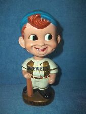 VINTAGE BOBBLE HEAD NODDER  MILWAUKEE BREWERS   JAPAN     ONE OF MANY LISTED