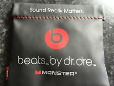 New Beats by Dr. Dre iBeats Black In-Ear Headphones from Monster 100% Genuine