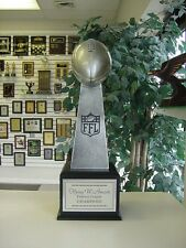 LARGE LOMBARDI STYLE FANTASY FOOTBALL PERPETUAL TROPHY 16 YEARS