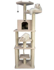 Armarkat Cat tree Furniture Condo, Height 75-Inch and Up B7801 New