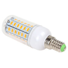 1pcs Universal E14 9W 56 LED SMD 5730 Light LED Corn Bulb Warm White 110V