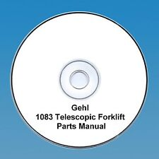 GEHL 1083 DYNALIFT TELESCOPIC FORKLIFT PARTS MANUAL