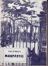MEUSE de Jean - MAUCASTEL / Texte français - anglais