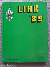 1989 SAINT PAUL COLLEGE OF PASIG YEAR BOOK, PASIG CITY, PHILIPPINES UNMARKED!