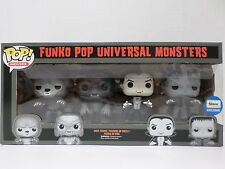 Funko Pop! Movies: Universal Monsters 4 Pack Black & White Exclusive - BRAND NEW