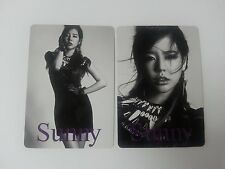 SNSD K-POP Girls' Generation 3rd Japan Arena Tour Sunny Official Photocard 2p