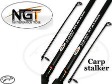 2X CARP FISHING RODS COARSE FISHING STALKER RODS ANGLING 8FT 2 PIECE NGT TACKLE
