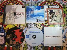 BRAVE FENCER MUSASHI PS1 PLAYSTATION NTSC JAPAN COMPLETO BUEN ESTADO