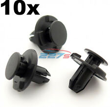 10x 8mm Hole, Wheel Arch Liner Clips, Plastic Trim Clips for Inner Wing- Subaru