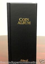 Harris Coin Stock Book 80 Pocket Album for 2x2 Holders Storage