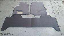 NEW OEM TOYOTA LAND CRUISER GRAY CARPET FLOOR MATS & CLIPS 1998-2002