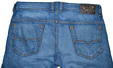 Diesel Safado Men's Slim Jeans Sz. 35x34 (Tagged 33x32) Made in USA - $178 NWT