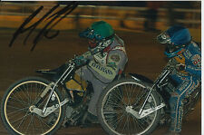 PAUL COOPER HAND SIGNED SCUNTHORPE SCORPIONS SPEEDWAY 6X4 PHOTO 2.