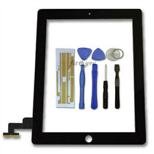 Black Replacement Digitizer Touch Screen Glass Display + Free Tools For iPad 2