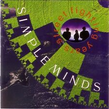 Simple Minds CD Street Fighting Years - England