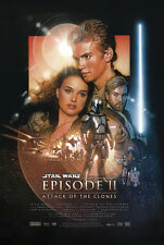 STAR WARS: EPISODE II - ATTACK OF THE CLONES - MOVIE POSTER (REGULAR) (24 x 36)