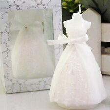 Exquisite Bridal Bride Shape Candle Wedding Party Bridal Shower Boxed Gift LACA