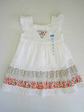 NWTs Childrens Place Girl's Dress 24m Kids White Lace Ruffle Sunskirt MSRP=24.95