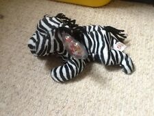 rare Ziggy the zebra Bear  Can combine postage TY beanies beanie bear 1995