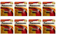 8 X Panasonic CR-123A CR123 CR 123 Batteries, 3V Lithium Photo Battery 2025 DATE