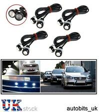 8 PCS 10W CAR BIKE EAGLE EYE DAYTIME DRL FRONT TAIL WHITE LED LIGHTS BACKUP NEW