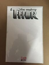 MIGHTY THOR # 1 BLANK VARIANT FIRST PRINTING MARVEL (2015) JANE FOSTER