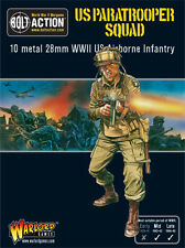 Warlord Games Bolt Action BNIB US Paratrooper Squad WGB-AA-02