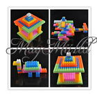 104pcs Assorted Plastic Children Puzzle Educational Building Blocks Bricks Toy J