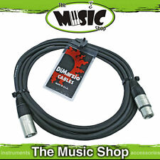 New Dimarzio 15ft XLR Microphone Cable - USA Made Premium Mic Lead - EP2615