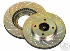 EBC GROOVED FRONT BRAKE DISCS MITSUBISHI 3000GT GT GTO