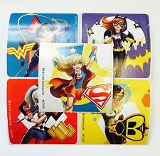 15 DC Comics Super hero Girls Stickers Party Favors Teacher Supply Wonder Woman