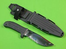 RARE Pre Production 4/10 MPK MISSION Tactical Fighting Knife & Scabbard