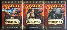2006 Magic The Gathering GUILDPACT Complete Set of 3 Theme Decks SEALED!!
