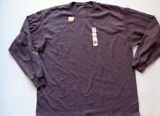 New With Tags Fruit of the Loom T Shirt Long Sleeve Java Heather Brown Size 2XL