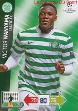 U36 VICTOR WANYAMA CELTIC FC KENYA CARD CHAMPIONS LEAGUE ADRENALYN 2013 PANINI