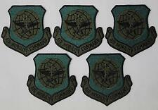 """USAF U.S. Air Force Mobility Command AMC Authentic Subdued 3"""" Patch, Lot of 5"""