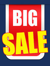 "Big Sale Business Retail Display Sign, 18""w x 24""h, Full Color"