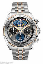 NEW Citizen Men's AV3006-50H Signature Collection Eco-Drive Moon Phase Flyback
